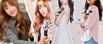 這些韓國明星證明自己的美麗不會被擺他們旁們的紙板比下去