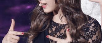 Tzuyu 穿著感性Lace Dress相片及視頻