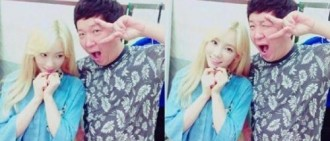 《Music Bank》鄭亨敦助陣「前妻」泰妍,軟糖布丁很幸福