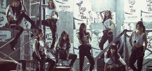 少女時代日本新單封面照 「最高女團」的軍隊式性感魅力