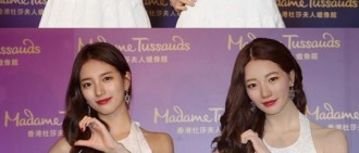 秀智赴香港觀看「雙胞胎蠟像」 成蠟像館首韓流女神