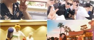 SM家族夏威夷旅遊照公開 眾星度假共享歡樂