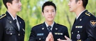 昌珉、崔始源、東海義警照片公開三劍客英姿煞爽無人敵
