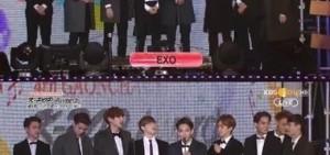 Gaon Chart K-pop Awards EXO獲人氣獎 44%壓倒性得票率