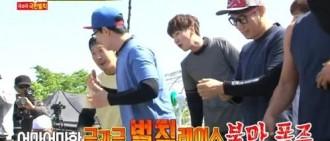 《Running Man》全體成員抗議節目組 極限懲罰究竟是?