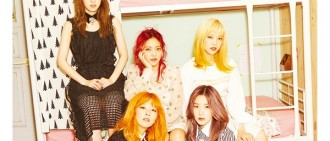 Red Velvet新寫真出爐 成員受訪談新輯