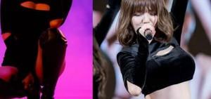 """14張AOA的新""""揭開胸口""""舞台服裝照片"""