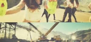 少女時代在新歌「Catch Me If You Can」分段視頻中的表演吸人眼球