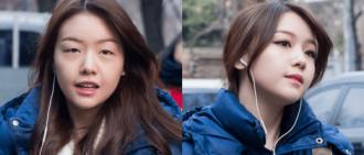 韓國男子看到女友的素顏之後,上網尋找網友幫助助