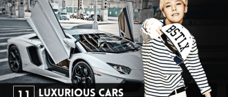 11位坐擁超級豪華汽車的韓國名人