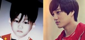 EXO所有成員兒時照片大公開