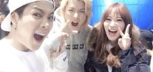 歌謠大戰Kangnam-Jackson-英智,親密認證照..2014年走紅3人幫