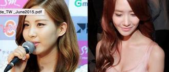 韓網友貼出允兒和徐玄的照片來證明有良好照明拍攝的重要性