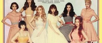 少女時代vs Wonder Girls復古概念宣戰,誰會成為最大贏家?