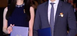 潤娥、宋承憲獲韓國政府頒發誠實納稅獎