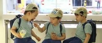 《超人回來了》宋氏三胞胎有愛分吃雪糕 「果然是國民三胞胎」