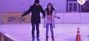洪宗玄變身按摩貼心男 與Yura進行甜蜜冰場約會