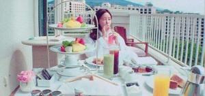 T-ara孝敏悠閑日常照,「好像貴族公主!」