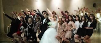 少女時代出席造型師婚禮 秀京姐姐新婚快樂!(圖)
