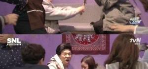 《SNL》搞笑模仿Yuri-吳成煥戀愛 「支持他們美好的愛情」