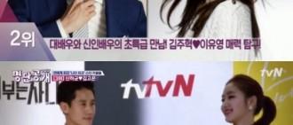 《名單》盤點韓國娛樂圈忘年戀 玄彬姜素拉排榜首