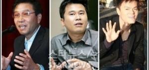 SM-YG-JYP三社社長持有股份估定價值大幅上漲
