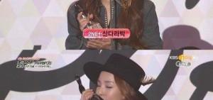 「Gaon Chart K-pop Awards」 2NE1獲3月音源賞 朴山多拉「一個人來很遺憾...」
