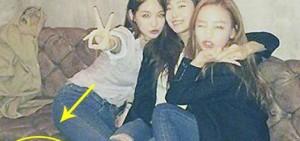大量網友批評具荷拉,Jessica和姜敏京的涉嫌不當照片