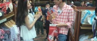 李光洙-熊黛林香港迪士尼「甜蜜約會」?