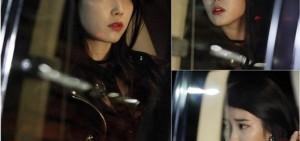 IU變身『冰山公主』 大紅唇妝配撲克臉
