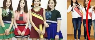 網民對於近Red Velvet各個成員體重增加表示失望