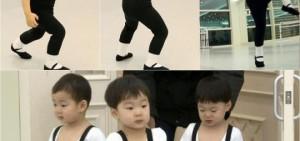 《超人回來了》三胞胎大跳芭蕾舞 萬歲變身李小龍