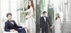 尹相鉉-Maybee浪漫的婚紗照公開,新娘美貌似精靈
