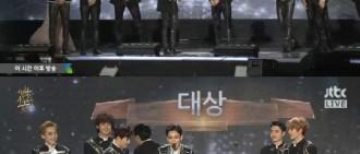 EXO蟬聯「金唱片」大獎 KAI稱生日獲大禮