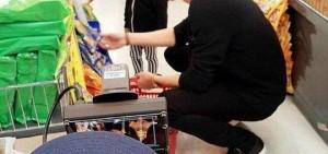 EXO燦烈與雙胞胎書俊超市行,「一日爸爸?」