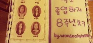 Wonder Girls出道8周年紀念 白天鵝畢業照美美噠