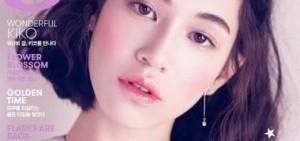 """水原希子成為""""Vogue Girl Korea""""四月號的封面"""