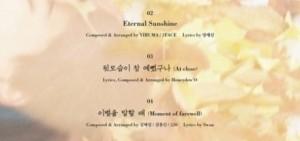 圭賢首張個人專輯<在光化門>公開收錄曲目表