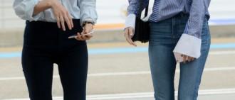 Jessica Krystal亮相機場 高顏值姐妹養眼吸睛