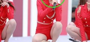 11張AOA Choa新的火紅色舞台服照片