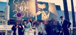 宋慧喬1年前出席戛納電影節的照片曝光