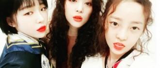 佳仁-雪莉為具荷拉慶生 三人合體演繹獨特魅力
