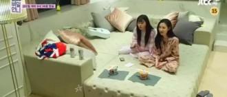 第一個敢打宣美的後輩女偶像?Red Velvet澀琪睡覺也是冒冒失失!