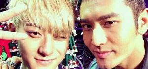 黃曉明解釋此前EXO成員TAO退出說引爭議