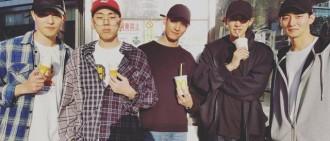 EXO世勳竟收到BIGBANG成員的應援餐車?粉絲推測兩個人友誼的橋樑