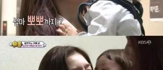 Red Velvet驚喜出演《超人回來了》,IRENE、JOY被親!