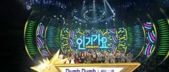Red Velvet奪得《人氣歌謠》一位 四連冠大勢認證!