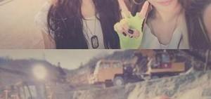 泰妍與Tiffany公開新歌MV拍攝認證照