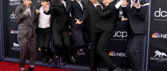 Halsey助陣BTS《告示牌》合體尬舞! 3分鐘換2套服「比防彈還忙」