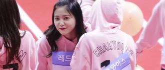 歌迷發現TWICE Chaeyoung 在偶像運動會上與Red Velvet Yeri 交換電話號碼